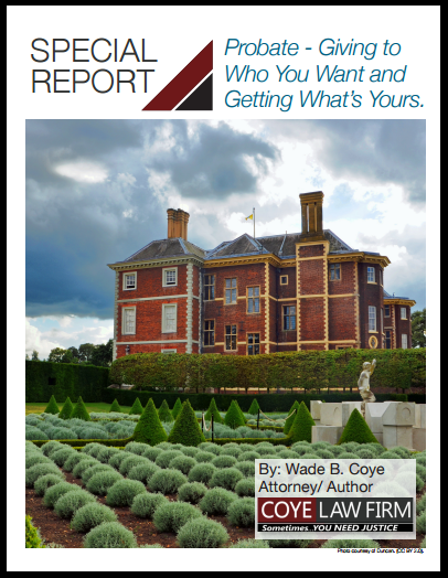 Want to Save Time and Money on Probate? Download My Free Probate Special Report