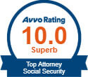 AVVO Badge for Coye Law